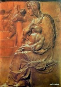 Michelangelo first work  Madonna la Scala