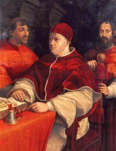 Rafael Santi, Påve Leo X