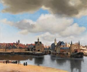 """Vy över Delft""(1660-61)"
